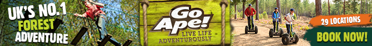 Start your adventure at Go Ape