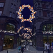 St Martin's Courtyard - New Christmas Light Installation with Festive Shopping Evening