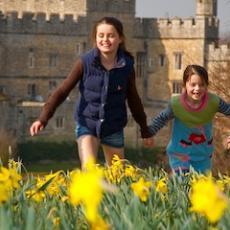 Easter Adventures at Leeds Castle in Kent