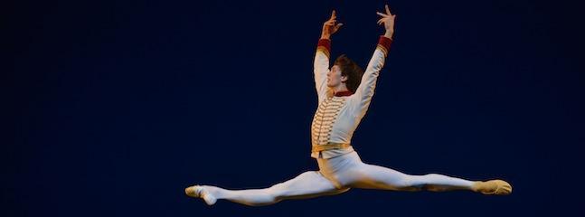Bolshoi dancer Artemiy Belyakov in Celebration courtesy Igor Zakharkin