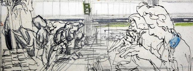 Feliks Topolski: Drawing Debden at the Bank of England Museum