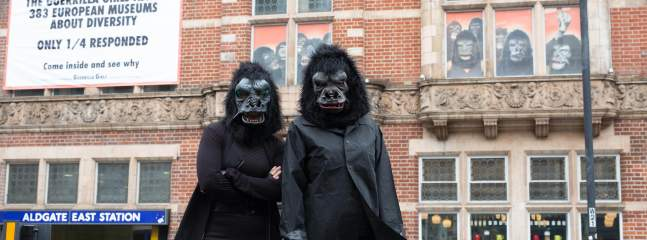 The Guerrilla Girls - Is It Worse In Europe?