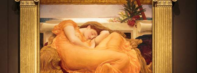 Flaming June at Leighton House Museum