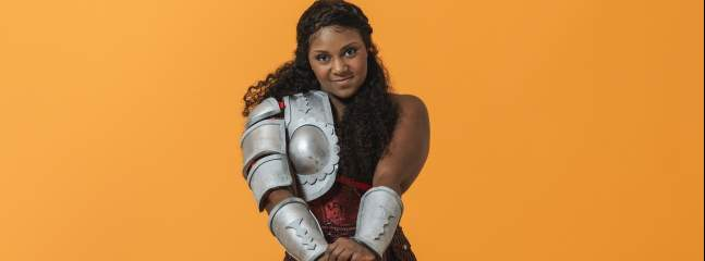 'You can't afford to be anything less than big in panto' - An Interview with Alexia Khadime