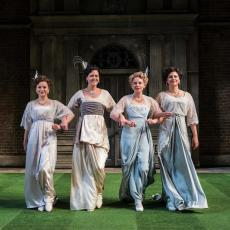 RSC's Love's Labour's Lost and Much Ado About Nothing
