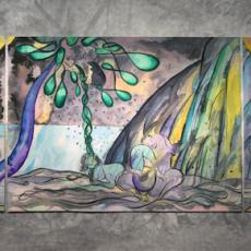 'Chris Ofili: Weaving Magic' at the National Gallery