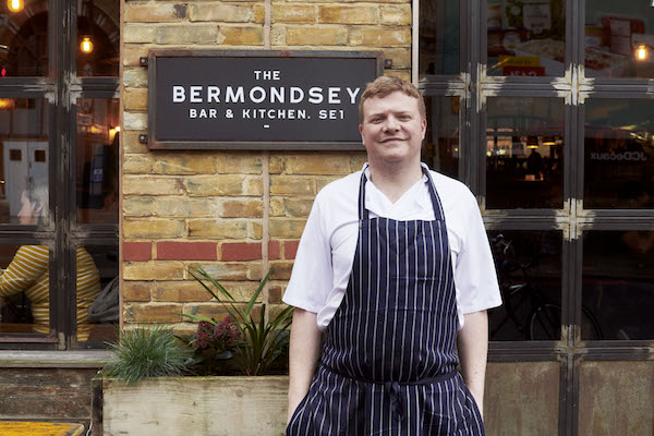James Donnelly Bermondsey Bar and Kitchen restaurant chef
