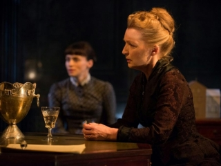 Interview With :    Actress Lesley Manville, star of Ghosts