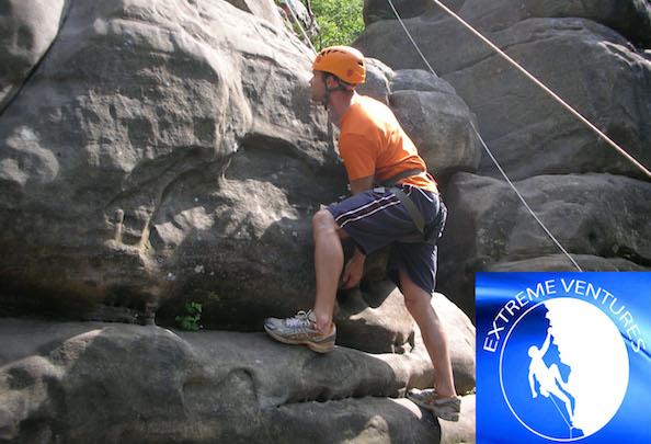 Rock Climbing at Extreme Ventures