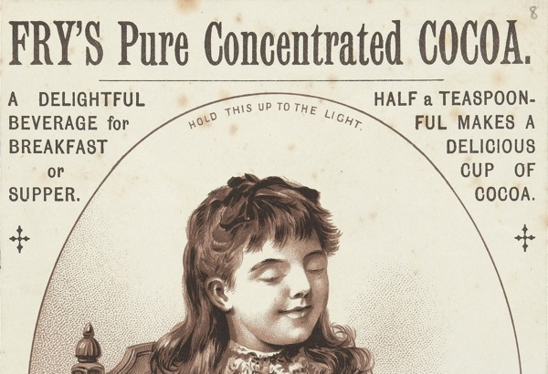 Advertisement for Fry's Pure Concetrated Cocoa