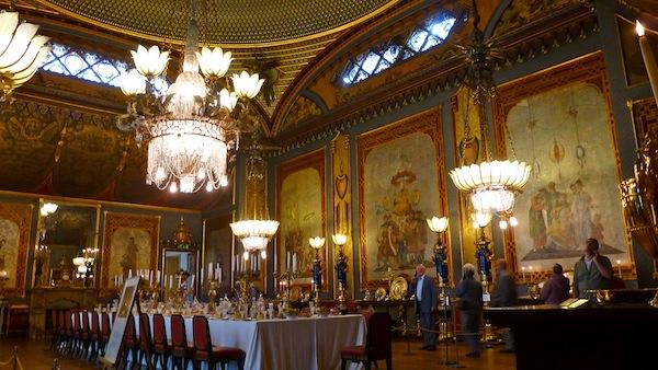 Brighton Pavilion's Banquet Room
