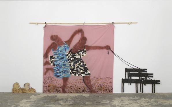 Lubaina Himid, Freedom and Change, 1984. Courtesy the artist & Hollybush Gardens