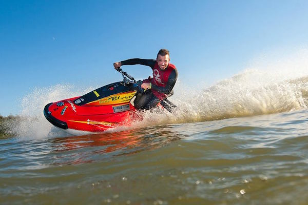Jetskiing at Action Watersports