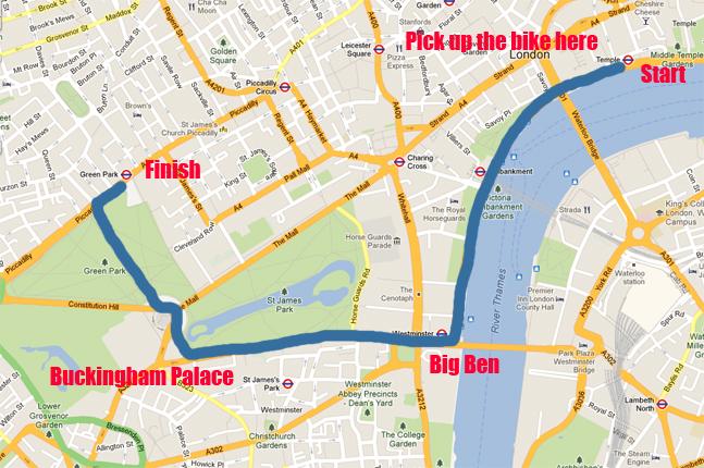 Best bike routes london