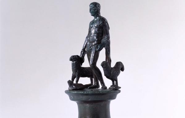 Mercury statue at Verulamium Museum