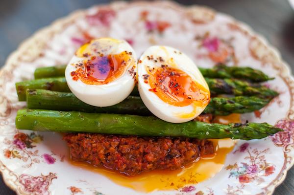 Souk Kitchen - Egg and Asparagus