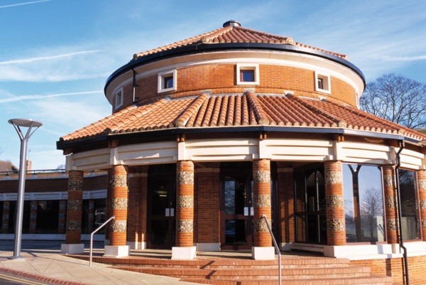 Verulamium Museum from the outside.
