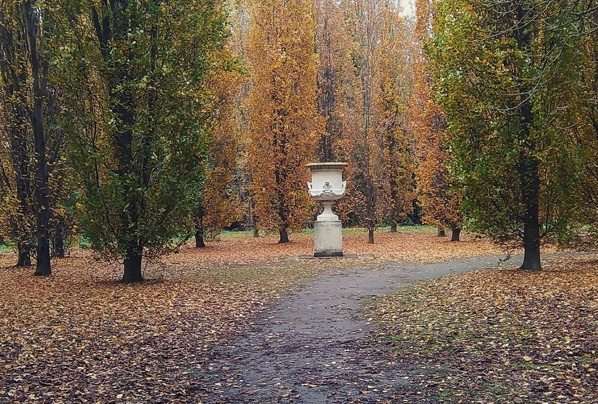 Anglesey Abbey in Autumn