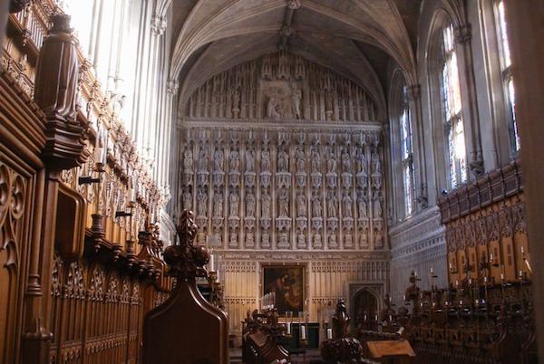 Magdalen College interior