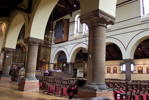 St Barnabas Church interior
