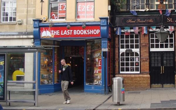The Last Bookshop, Oxford