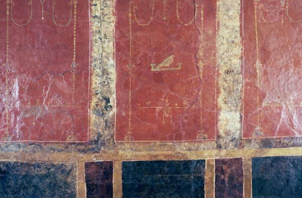 Verulamium Museum wall paintings.