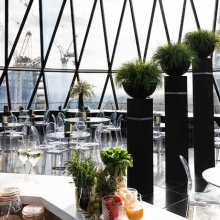 Win cocktails for two at the Gherkin bar!