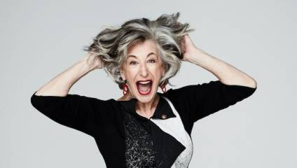Promotional image of Maureen Lipman in her new show