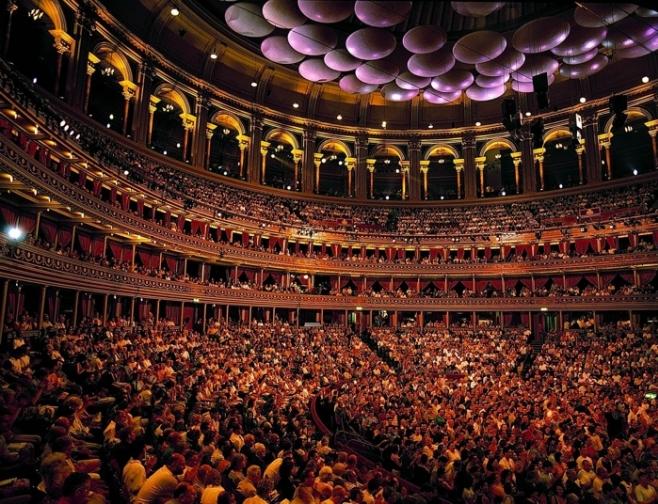 Royal albert hall for House music london